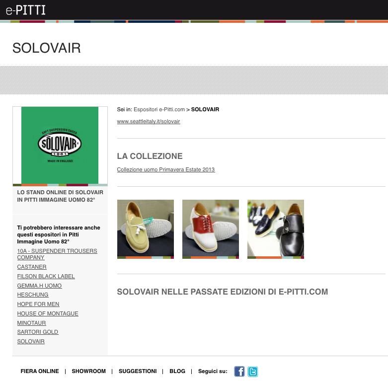 Pitti Solovair made in England