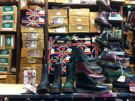 Solovair shoes at Camden