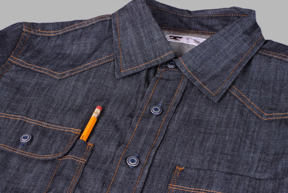 denim shirt pockets - photo #48